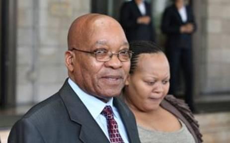 FILE: President Jacob Zuma with his wife Nompumelelo Ntuli-Zuma. Picture: EWN