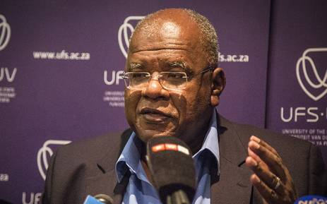 University of the Free State Vice Chancellor Prof. Jonathan Jansen held a media briefing in Bloemfontein over demonstrations at the university's main campus on 23 February 2016. Picture: Reinart Toerien/EWN.