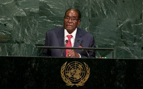 Mugabe slams Trump at UN
