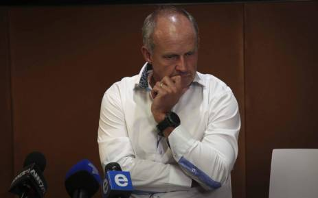 Capitec CEO, Gerrie Fourie addresses the media in Cape Town on 30 January 2018. Picture: Cindy Archillies/EWN