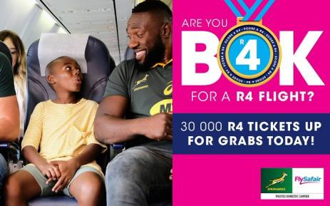FlySafair R4 ticket sale. Picture: @FlySafair/Twitter.