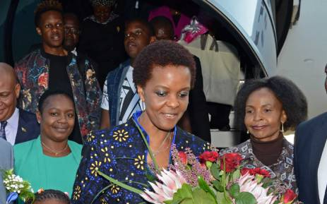 First Lady Grace Mugabe presently leads the powerful women's league and she denies wanting any position other than the one she's got. Picture: GCIS.