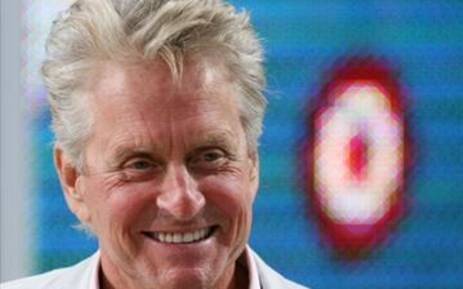 US actor Michael Douglas attends Canal Plus TV program Le Grand Journal on May 15, 2010 in Cannes, at the 63rd Cannes Film Festival. Picture: AFP.