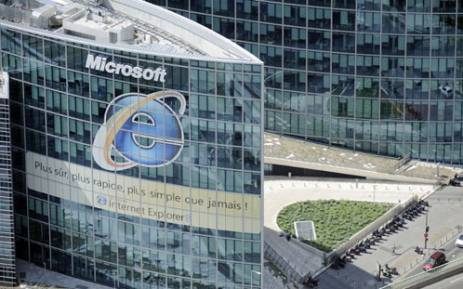 n aerial picture taken aboard an helicopter on July 20, 2010 shows the headquarters of Microsoft Corporation new headquarters in Issy-les-Moulineaux, outside Paris. AFP