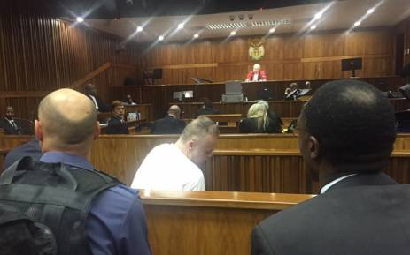 Radovan Krejcir in court during sentencing proceedings on 22 February 2016. Picture: Gia Nicolaides/EWN.