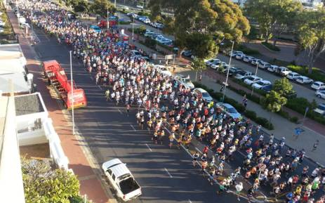 FILE: Thousands of runners take part in the Cape Town Marathon. Picture: EWN