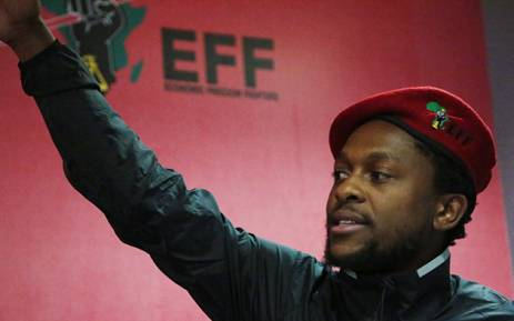 Economic Freedom Fighters spokesperson Mbuyiseni Ndlozi. Picture: Reinart Toerien/EWN