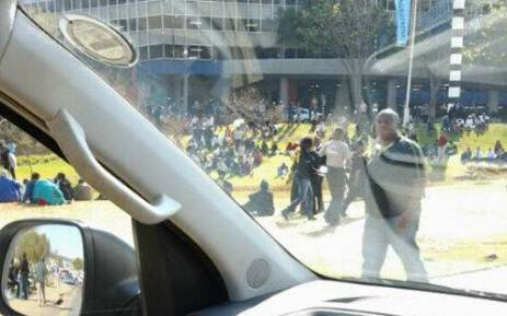 The Menlyn Shopping Centre was evacuated after a suspected bomb threat on 8 July 2013. Picture: Sissy Sambo/Twitter