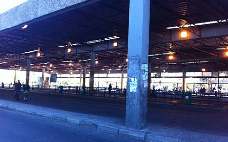 The Cape Town Bus Terminus was completely deserted on Friday 19 April 2013 as bus drivers embarked on a nationwide strike for higher wages. Picture: Chanel September/EWN""