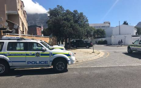 Violent disruptions erupted at a CPUT student residence in the Cape Town CBD earlier on Monday. Picture: Kevin Brandt/EWN.
