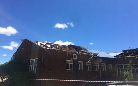 FILE: Schooling was suspended at Protearif Primary School in Krugersdorp after a storm ripped off the roof from most of the classrooms. Picture: Mia Lindeque/EWN