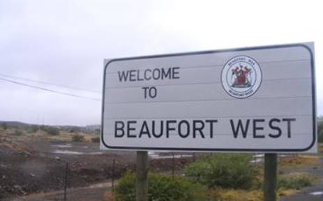 The Great Karoo town of Beaufort West. Picture: EWN.