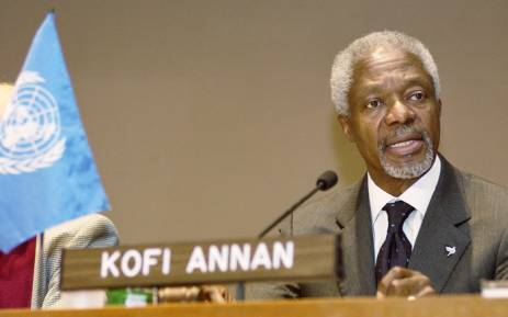 FILE: Former UN chief Kofi Annan. Picture: United Nations Photo.