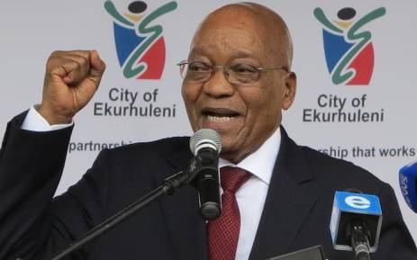 South Africa opposition unites against Zuma