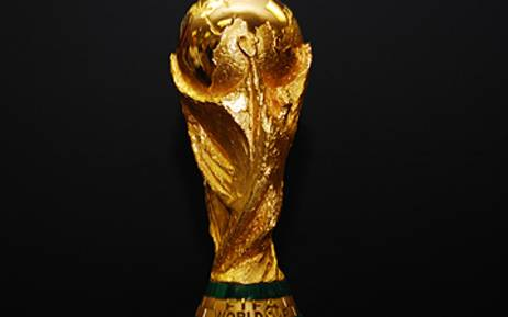 The FIFA Soccer World Cup Trophy. Picture: AFP.