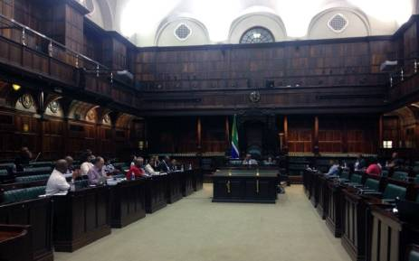 FILE: This file photo shows MPs at work on their draft report following an inquiry into the South African Broadcasting Corporation (SABC)'s fitness to hold office. Picture: Gaye Davis/EWN.