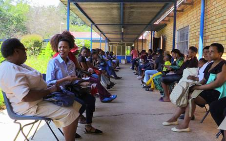 FILE: Parents wait to register their children at the Gauteng Education Department's district offices. Picture: EWN