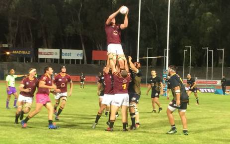 The Varsity Cup match between NMU and Stellenbosch University on 12 March 2018 which was abandoned. Picture: @varsitycup/Twitter