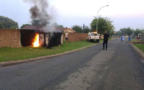 Three substations exploded in Benoni on 22 January 2016 causing widespread electricity blackouts in the area. Picture: Ian Wolmarans/iWN.