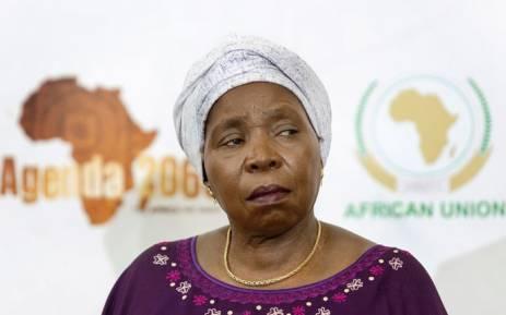 Nkosazana Dlamini-Zuma. Picture: AFP.