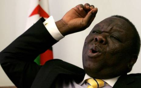 FILE: Morgan Tsvangirai. Picture: AFP