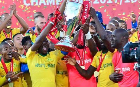 Mamelodi Sundowns crowned 2017/18 PSL champions. Picture: Twitter/@Masandawana