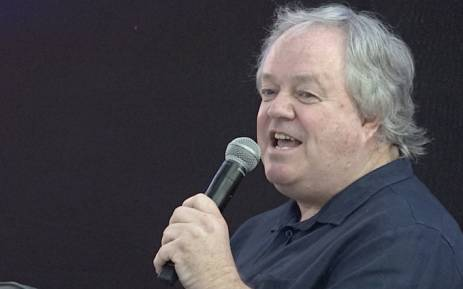 Veteran journalist Jacques Pauw speaks at the launch of his book 'The President's Keepers' at the Brooklyn Mall in Pretoria on 9 November 2017. Picture: Louise McAuliffe/EWN