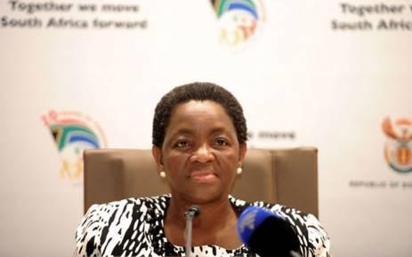 FILE: Social Development Minister Bathabile Dlamini. Picture: GCIS.