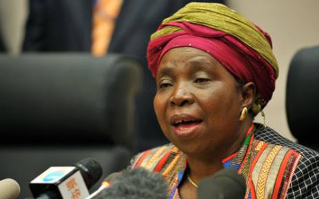 AU head Nkosazana Dlamini-Zuma hosts African leaders in Addis Ababa on the AU's 50th anniversary. Picture: Jacoline Prinsloo/GCIS