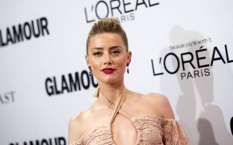 FILE: Amber Heard. Picture: AFP.
