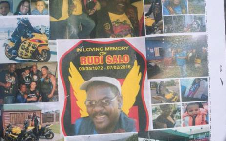 Rudi Salo was a motorbike enthusiast and part of the Lee Riders club. He was one of the victims who was shot and killed last weekend at a biker rally. Picture Monique Mortlock/EWN.