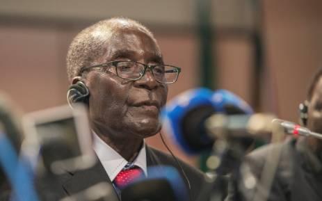 Zimbabwean President Robert Mugabe. Picture: AFP.