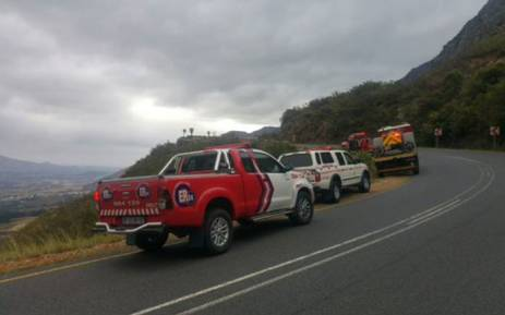 A man has died after he lost control of his vehicle off the Franschhoek. Picture: @_ArriveAlive.