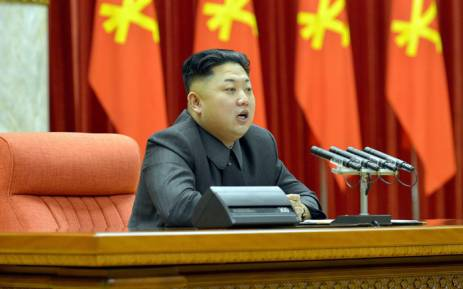 This undated photo file released by North Korea's official Korean Central News Agency (KCNA) on 27 December 272013 shows North Korean leader Kim Jong-Un. Picture: AFP/Files/KCNA via KNS Republic of Korea.