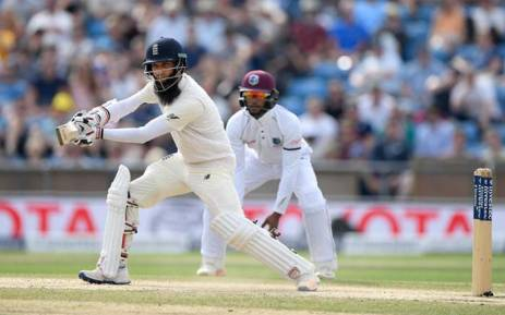 FILE: Moeen Ali batting during England's clash against West Indies. Picture: @englandcricket/Twitter