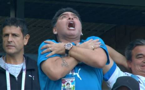 FIFA rebukes Maradona over 'robbery' comments