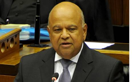Finance Minister Pravin Gordhan delivering his national Budget speech in Parliament on 24 February 2016. Picture GCIS.