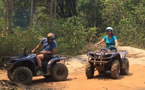 quad biking in Hazyview, Mpumalanga. Picture: Induna adventures website