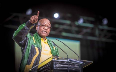 President Jacob Zuma on the final day of the ANC national policy conference on 5 July 2017. Picture: Thomas Holder/EWN.