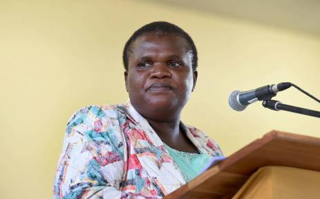 FILE: Public Service and Administration Minister Faith Muthambi. Picture: GCIS