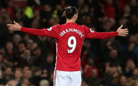 Manchester United forward Zlatan Ibrahimovic. Picture: @ManUtd/Twitter