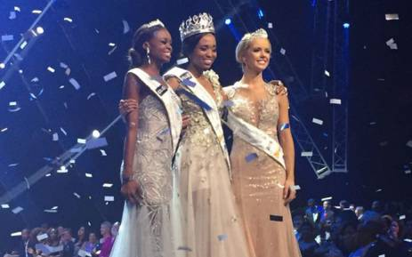 Ntandoyenkosi Kunene was crowned as Miss South Africa 2016 on 19 March. Picture: Neo Koza/EWN.