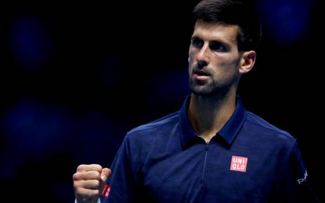 A screengrab of world number two Novak Djokovic. Picture: Twitter/@TennisTV.