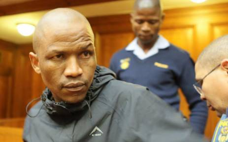 Serial rapist Sikangele Mki was given 15 life sentences and 120 years imprisonment on 14 September 2017 at the Cape Town High Court. Picture: Facebook: @SAPoliceService.