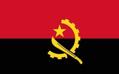 Angolan flag. Picture: Supplied.