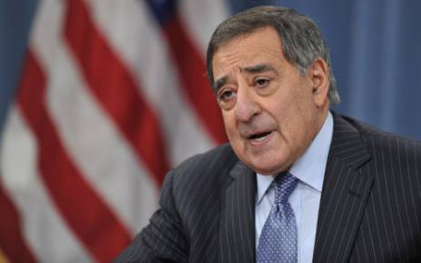 US Secretary of Defense Leon Panetta during a media briefing on January 24, 2013 at the Pentagon in Washington,DC. Picture: AFP