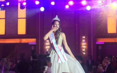 The new Mrs World, Candice Abrahams. Picture: @MrsSA_Official.