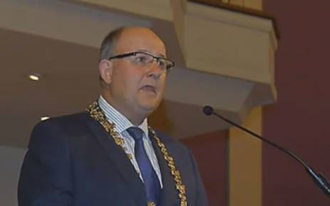 Nelson Mandela Bay Mayor Athol Trollip. Picture: Youtube screengrab.