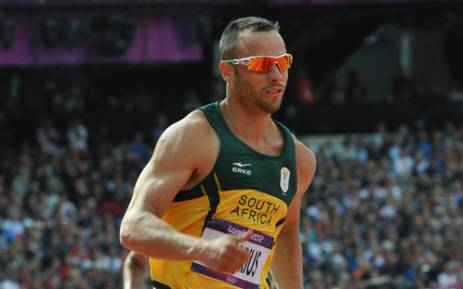 FILE: Oscar Pistorius makes history by competing in the heats of the 400m of the Olympic Games in the Olympic Stadium. Picture: SA Sports Picture Agency.