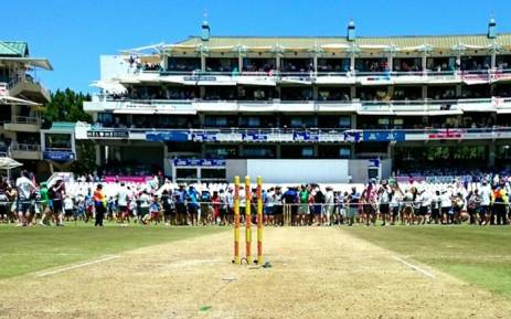 #SAvsENG: The #Newlands pitch during Day 2 of the Test. Picture: Abed Ahmed/EWN.